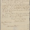 Letter from George Lee Turberville