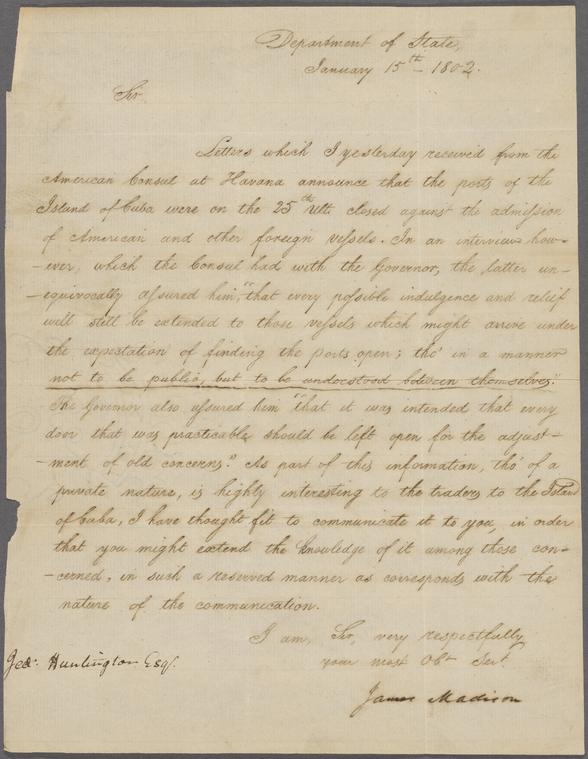 on 1/15/1802