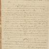 Letter from John Madison