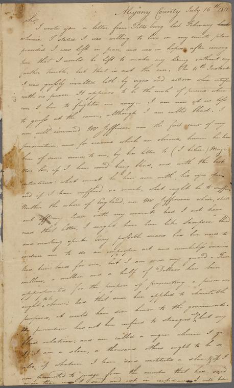 on 7/16/1811