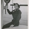 SPAR Olivia J. Hooker, of Columbus, Ohio, at the U.S. Coast Guard Training Station, Manhattan Beach, Brooklyn, New York, 1945
