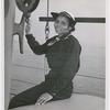 SPAR Olivia J. Hooker, of Columbus, Ohio, at the U.S. Coast Guard Training Station, Manhattan Beach, Brooklyn, New York, 1945