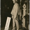 Publicity photograph of tap dancer and vaudevillian Eddie Rector, circa 1920s