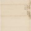 Letter to John Steel