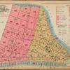 Outline and Index Map of Volume One, Atlas of New York City, Borough of Manhattan. Battery to 14th St.