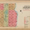 Outline and Index Map of Volume Three, Atlas of New York City, Borough of Manhattan. 59th St.to 110th St.
