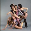 Cast from the stage production Cats, including Cynthia Onrubia, Willie Rosario, Donna King, Deborah Phelan, and Reed Jones, posing for the Broadway Buns campaign