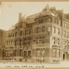Mansion; townhouses; Boulevard type lamp; Fifth Avenue twin lamp