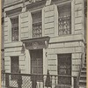 Detail of facade-house at 15 East Seventy-fourth Street, New York City