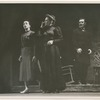 Nora Kaye, Lucia Chase and Dimitri Romanoff in a performance of Fall River Legend, no. 148