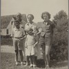 Gittings family, Rehoboth Beach, taken on or about August 31, 1939