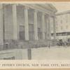 Saint Peter's Church, New York City, begun 1836
