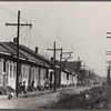 New Orleans Negro street. Louisiana