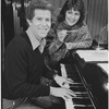 Tony Roberts and Lucie Arnaz in publicity photograph for They're Playing Our Song