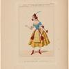 Costume de Melle Louise Fitz-James, rôle de Lilia, dans Le diable amoureux, ballet, actes I et II.