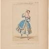 Costume de Melle. Nathalie Fitzjames, dans La jolie fille de Gand (Ballet), la Cracovienne.