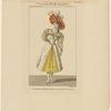 Costume de Melle. Noblet, rôle d'Iseult, dans La belle au bois dormant: Ballet pantomime, Académie Royale de Musique. Maleuvre del. s