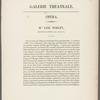 Melle. Noblet, rôle de Folie, dans Gustave III; ou Le bal masqué, Acc'ie r'le de musique
