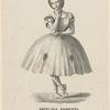 Angelina Fioretti, prima ballerina di rango francese nella stagione di carnovale e quadragesima 1861-62 nel Teatro Gallo S. Benedetto, Venezia.