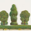Woodland scenery cut-outs
