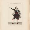 Costume de Mazilier, rôle de Don Cleophas, dans Le diable boiteux, ballet, Académie royale de musique
