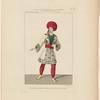 Costume de Mazilier, rôle d'Ismaïl, dans La révolte au sérail, ballet, Académie royale de musique