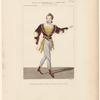 Costume de Mazilier, rôle de Fernando, dans La tempête, ballet, Académie royale de musique