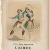 zingarilla, as danced by Mad. & Mons. Monplaisir, in the grand Asiatic ballet of L'almée. as performed under the direction of Mons. V. Bartholomin, at the Broadway Theatre.