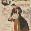 """Valse chaloupée. """"The Apach's dance,"""": créée et reglée par M. Max Dearly, dansée par Mistinguett et Max Dearly dans """"La Revue du Moulin."""""""