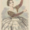 Lola Montez as Mariquita, in the ballet Un jour de carneval of Seville.