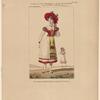 Costume de Mme. Montessu, rôle de Jeannette, dans Astolphe et Joconde, ballet pantomime, Académie royale du musique.