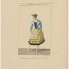 Costume de Mme. Montessu en fiancée Dalécarlienne, dans Gustave III; ou le bal masqué, opéra, Académie royale de musique, acte V.