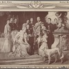 The most popular picture in Germany: The Kaiser and his family by [?] Keller