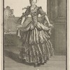 Mademoiselle Moreau dansant a L'Opéra.