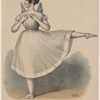 Madame Lecomte in the character of the Sylphide, in the opera of that name, act 1st scene 1st, Park Theatre, N.Y. May 10th 1838