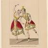 Costumes de Paul et de Mme Legallois, dans le ballet de Moïse: Tragédie lyrique. Academie Royale de Musique