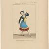 Costume de Melle. Legallois, rôle de Marie, dans L'Orgie, ballet