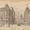Broad Street, from the corner of Wall Street