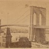 Brooklyn Bridge under construction; Brooklyn Ferry Terminal; Annex Cigar Factory