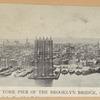 New York pier of the Brooklyn Bridge, 1876