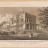 Residence of the Post family, now Claremont Hotel, Bloomingdale Road near Manhattanville 1860