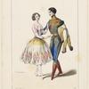 Academie Royale de Musique. Melle Carlotta Grisi, rôle de Paquita, Petipa, rôle de Lucien d'Hervilly, dans Paquita 2e acte