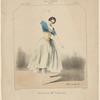 Rôle de La péri. (Melle Carlotta Grisi). Opéra (ballet) La péri