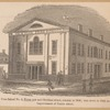 Free School no. 2, Tryon row and Chatham street, erected in 1806; torn down in 1839, on improved Centre street