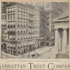 Manhattan Trust Company building, cor. Wall and Nassau Streets, New York