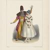 Melle. Pauline Leroux et Mr. Elie, dans la scène de séduction (3eme acte) du Diable amoreux