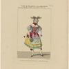 Costume de Melle. Leroux, rôle d'Henriette, dans Nathalie ou La laitière suisse, ballet, Académie royale de musique