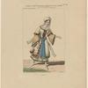 Costume de Melle. Pauline Leroux, rôle de Marie, dans La tentation, ballet opéra, Académie royale de musique, acte 1er