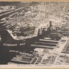 Aerial view showing Buttermilk Channel, Erie Basin, Gowanus Bay