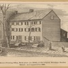 Kirk's Printing Office, birth place (in 1816), of the original Brooklyn Sunday School; as it appeared in 1881